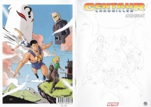 Centaur Chronicles vol. 2 Sketchbook